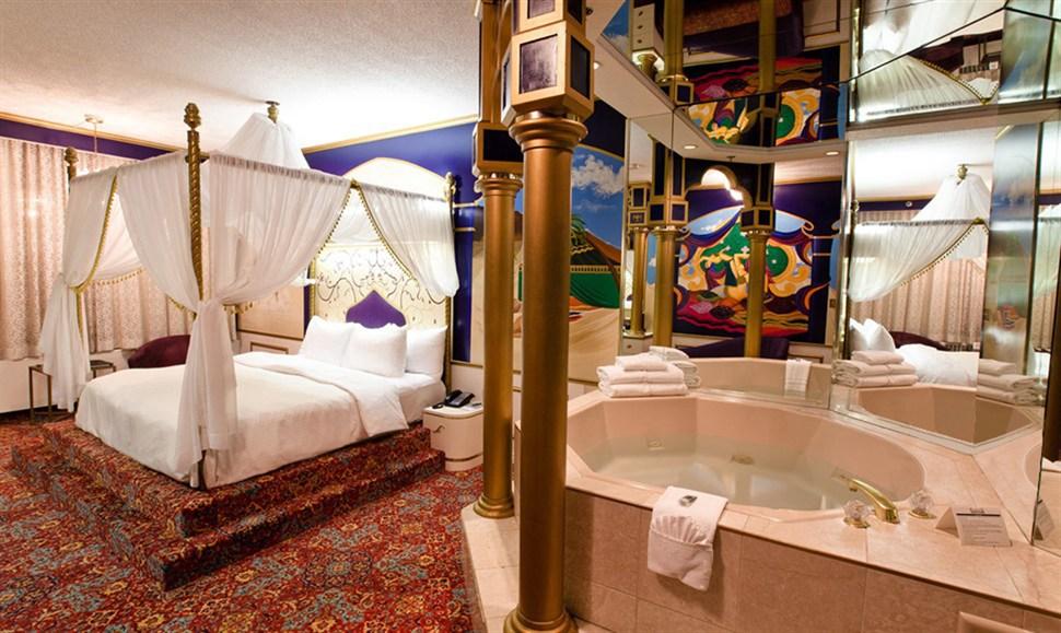 Arabian theme fantasyland hotel for Arabian hotel