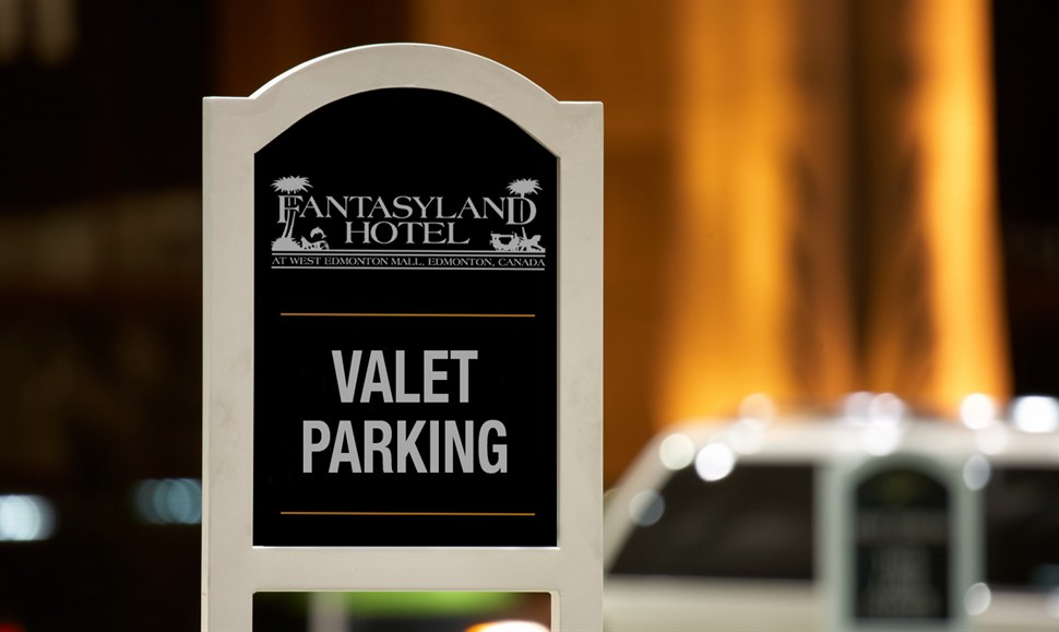 Valet parking at the star casino