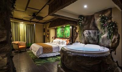 Superior Polynesian Room Fantasyland Hotel
