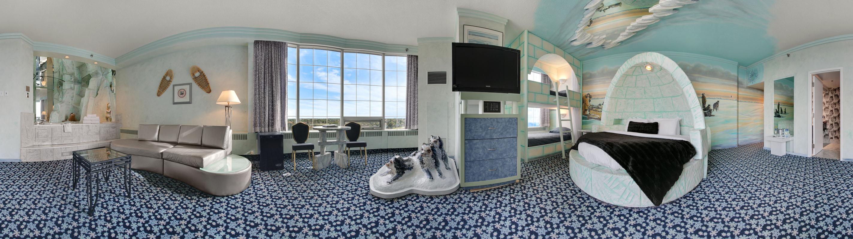 Luxury Igloo Theme Room