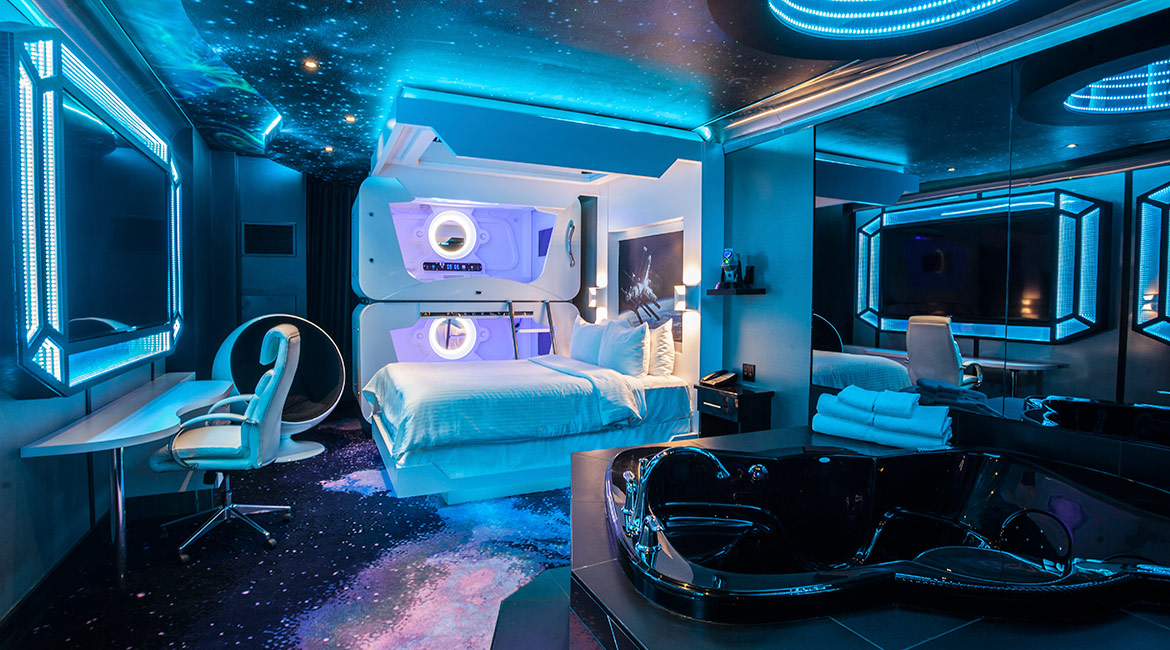 Exceptional Space Theme. Room Name
