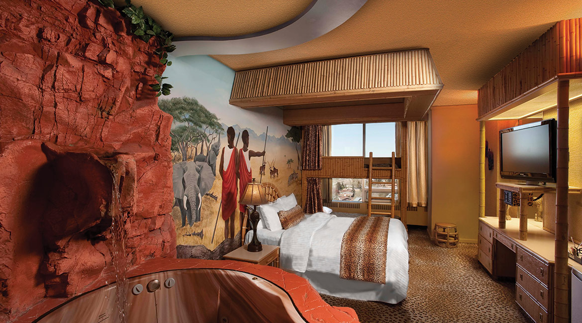 African Theme Room