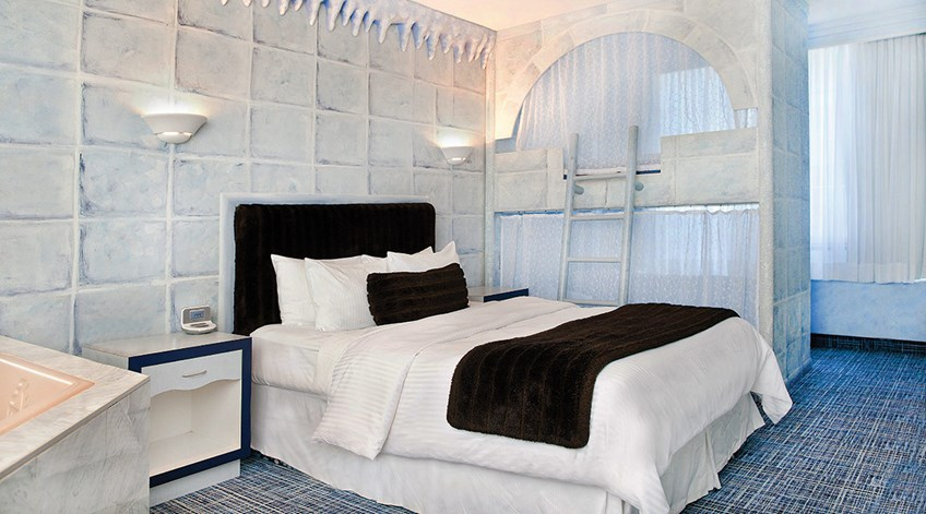 Igloo family theme room for Supreme themed bedroom