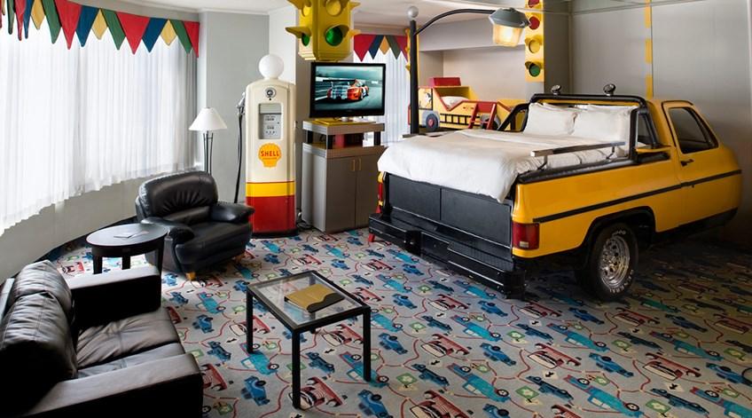 Luxury Truck Theme Room